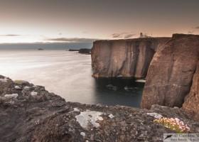 Esha Ness lighthouse, mainland Shetland, Scotland
