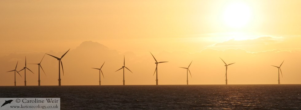 North Hoyle offshore wind farm, Wales, UK