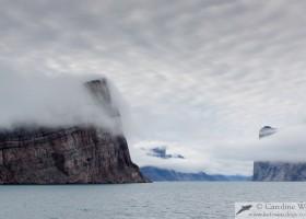 Entering the Icy Arm, Buchan Gulf, Baffin Island. (c) Caroline Weir.